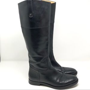 Enzo Angiolini Size 8.5 Ellerby Boot Black Leather